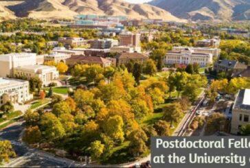 Fellowship at the University of Utah: (Deadline 30 November 2020)