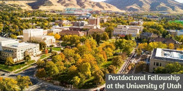 Fellowship at the University of Utah: (Deadline 30 November 2020)