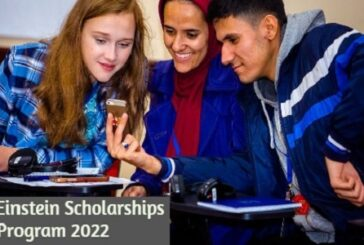 Albert Einstein Scholarships Program 2022: (Deadline 15 May 2021)