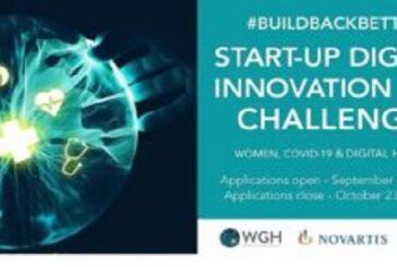 WGH/Novartis Foundation #BuildBackBetter Digital Innovation and AI Challenge 2020 (up to $15,000 prize): (Deadline 23 October 2020)