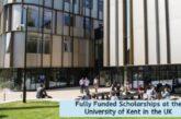 Fully Funded Scholarships at the University of Kent: (Deadline 27 November 2020)