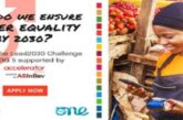One Young World/ABInBev Lead2030 SDG 5 Challenge 2020 for Female led Organisations (Funded to OYW Summit 2021 in Germany): (Deadline 30 October 2020)
