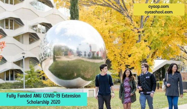 Fully Funded ANU COVID-19 Scholarship: (Deadline 30 December 2021)
