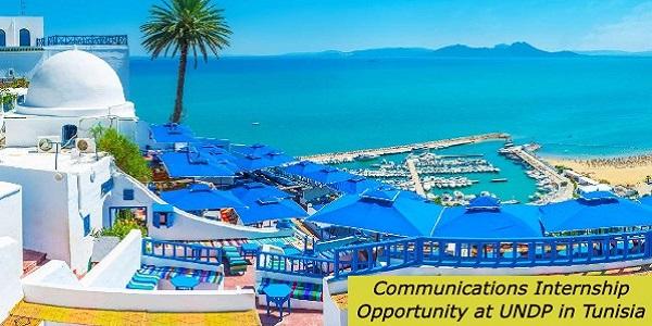 Communications Internship Opportunity UNDP: (Deadline 21 October 2020)