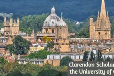 Clarendon Scholarship at the University of Oxford: (Deadline Varies)