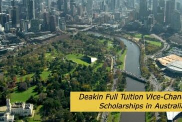 Deakin Full Tuition Vice-Chancellor's Scholarships in Australia: (Deadline Ongoing)