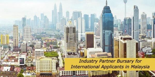 Industry Partner Bursary for International Applicants in Malaysia: (DeadlineOngoing)