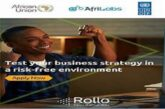 Rollo Business Simulation Program 2020 for African Small Enterprises ($10,000 USD Award): (Deadline 29 October  2020)