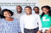 Tanzanian-German Centre for Eastern African Legal Studies (TGCL) Scholarships 2021 for young Africans: (Deadline 15 December 2020)