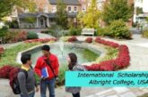International Scholarships at Albright College, USA: (Deadline 15 December 2020)