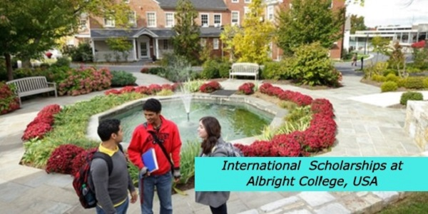 International Scholarships at Albright College, USA: (Deadline 15 December 2020)