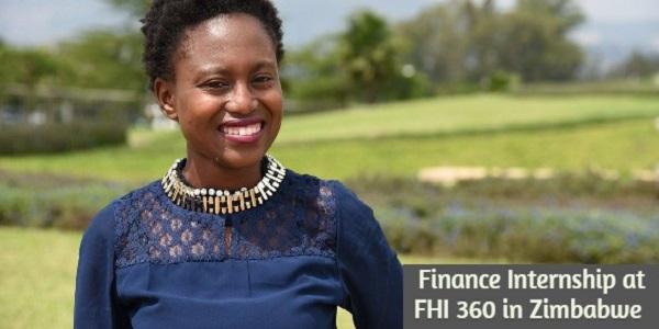 Finance Internship at FHI 360 in Zimbabwe: (Deadline 30 November 2020)