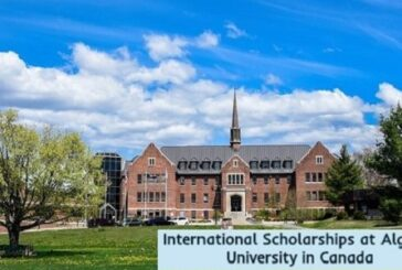 International Scholarships at Algoma University: (Deadline 15 November 2020)