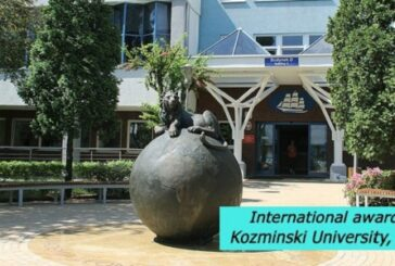 International awards at Kozminski University, Poland: (Deadline Ongoing)