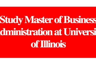 Study Master of Business Administration at University of Illinois: (DeadlineOngoing)