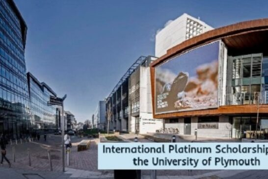 International Scholarships in Plymouth, UK: (Deadline Ongoing)