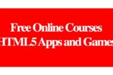 Free Online Courses HTML5 Apps and Games: (Deadline Ongoing)