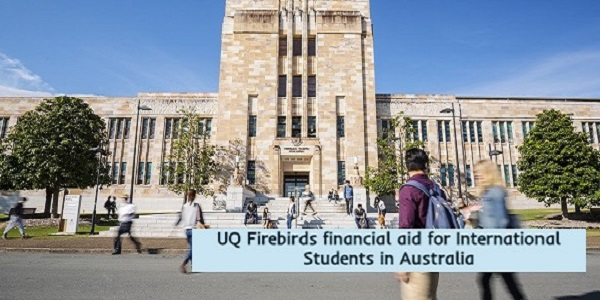 Financial aid for International Students in Australia: (Deadline 31 January 2021)