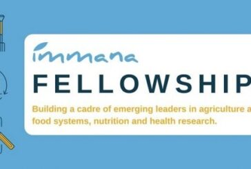 IMMANA Fellowships 2021/2022 for emerging leaders in agriculture, nutrition, and health research: (Deadline 31 December 2020)