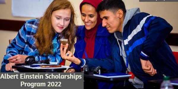 Albert Einstein Scholarships Program 2022: (Deadline 15 May 2021)