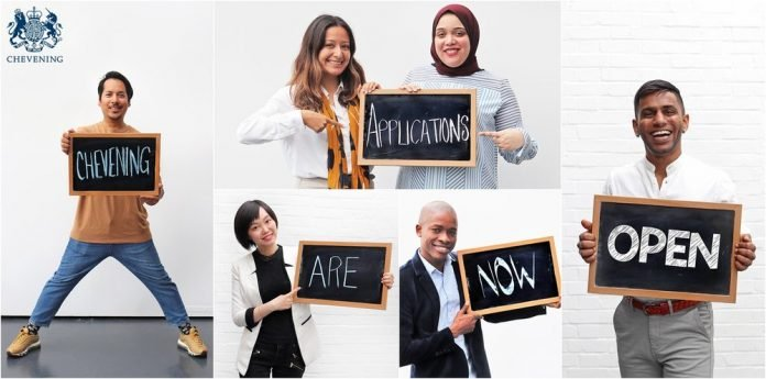 Chevening UK Government Scholarships Programme 2021/2022 for Study in the United Kingdom (Fully Funded): (Deadline 3 November 2020)