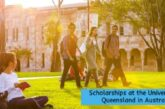 Scholarships at the University of Queensland: (Deadline 25 October 2020)