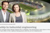 Julius Berger Nigeria Internship in Industrial Engineering: (Deadline unspecified)