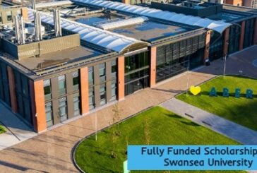 Fully Funded Scholarships at Swansea University: (DeadlineOngoing)
