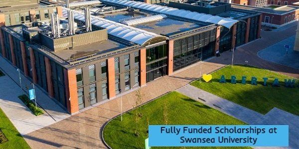 Fully Funded Scholarships at Swansea University: (Deadline	Ongoing)