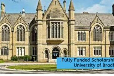 Fully Funded Scholarships at Bradford in UK: (Deadline27 January 2021)
