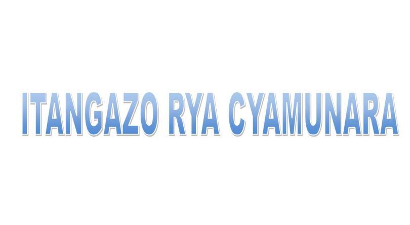 Cyamunara y'umutungo utimukanwa wa HITIMANA Jean Damascene na MANIRAGUHA Vestine uri mu kibanza gifite UPI 3/03/01/01/1126 giherereye Rubavu/Bugeshi/Buringo: ( Deadline: 06 November 2020 )