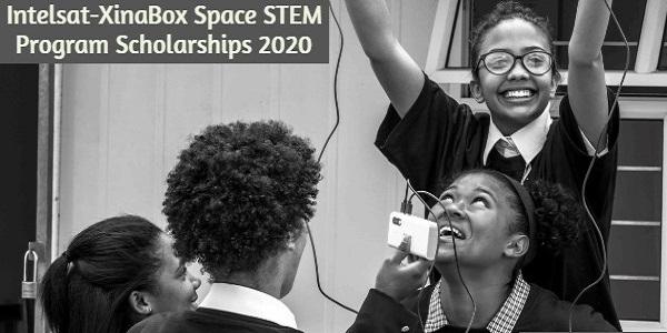 Intelsat-XinaBox Space STEM Program Scholarships 2020: (Deadline 30 November 2020)