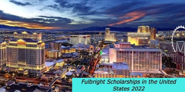 Fulbright Scholarships in the United States 2022: (Deadline 15 May 2021)