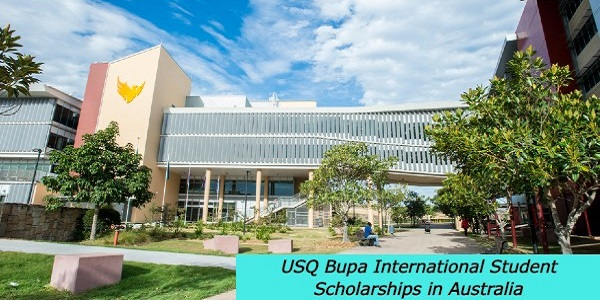 USQ Bupa International Student Scholarships in Australia: (Deadline 15 November 2020)