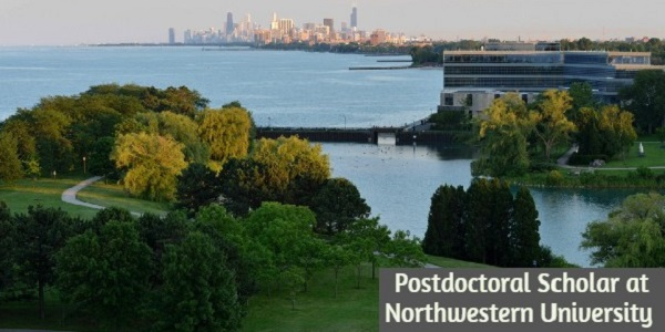 Postdoctoral Scholar at Northwestern University: (DeadlineOngoing)