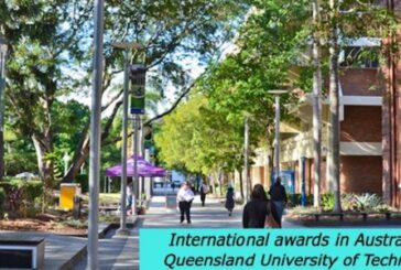 International awards in Australia at Queensland University of Technology: (Deadline	28 February 2021)