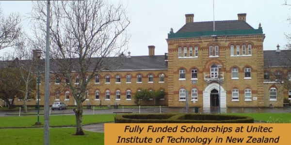 Fully Funded Scholarships at Unitec Institute of Technology in New Zealand: (Deadline Ongoing)
