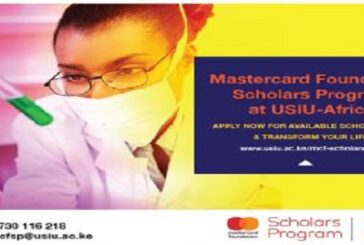 USIU-Africa Mastercard Foundation Scholars Program 2021/2022: (Deadline Varies)