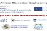 African Biomedical Engineering Mobility (ABEM) Scholarships 2021/2022: (Deadline 13 January 2021)