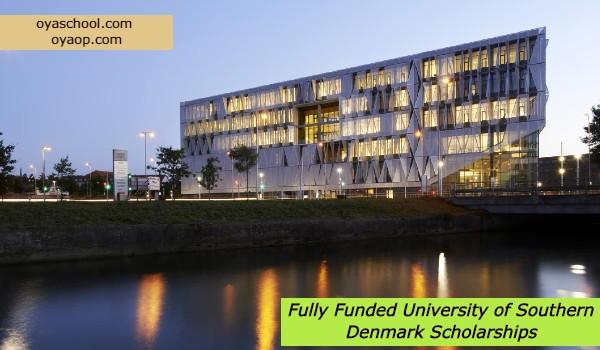 Fully Funded University of Southern Denmark Scholarships: (Deadline 20 December 2020)