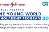 Johnson & Johnson/One Young World Virtual Scholarship Program to attend OYW Summit 2021: (Deadline 27 November 2020)