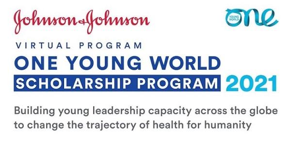 Johnson & Johnson/One Young World Virtual Scholarship Program to attend OYW Summit 2021: (Deadline 27 November 2020)