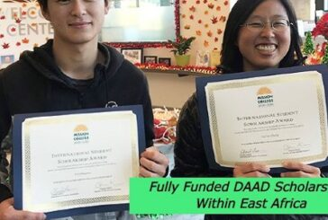 Fully Funded DAAD Scholarships Within East Africa: (Deadline 15 December 2020)