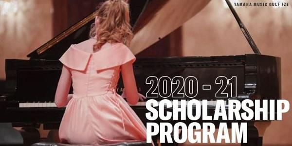 Yamaha Music Gulf FZE (YMGF) Piano Scholarship Program 2020-2021 (up to $1,000 USD): (Deadline 30 November 2020)
