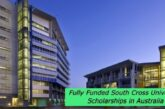 Fully Funded South Cross University Scholarships in Australia: (Deadline Ongoing)