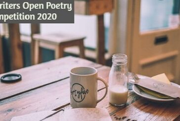 Cafe Writers Open Poetry Competition 2020: (Deadline 30 November 2020)