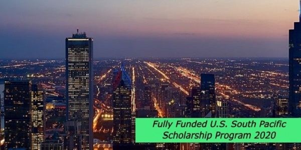 Fully Funded U.S. South Pacific Scholarship Program 2020 in Hawai'i, USA: (Deadline2 February 2021)