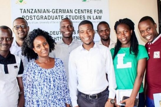 Tanzanian-German Centre for Eastern African Legal Studies (LLM) Scholarships 2021/2022 for East African Lawyers (Funded): (Deadline 31 December 2020)