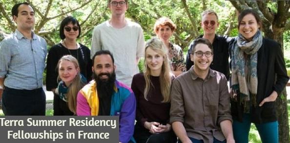 Fully funded Terra Summer Residency Fellowships in France: (Deadline 15 January 2021)