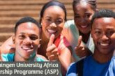Wageningen University Africa Scholarship Programme (ASP): (Deadline 1 February 2021)
